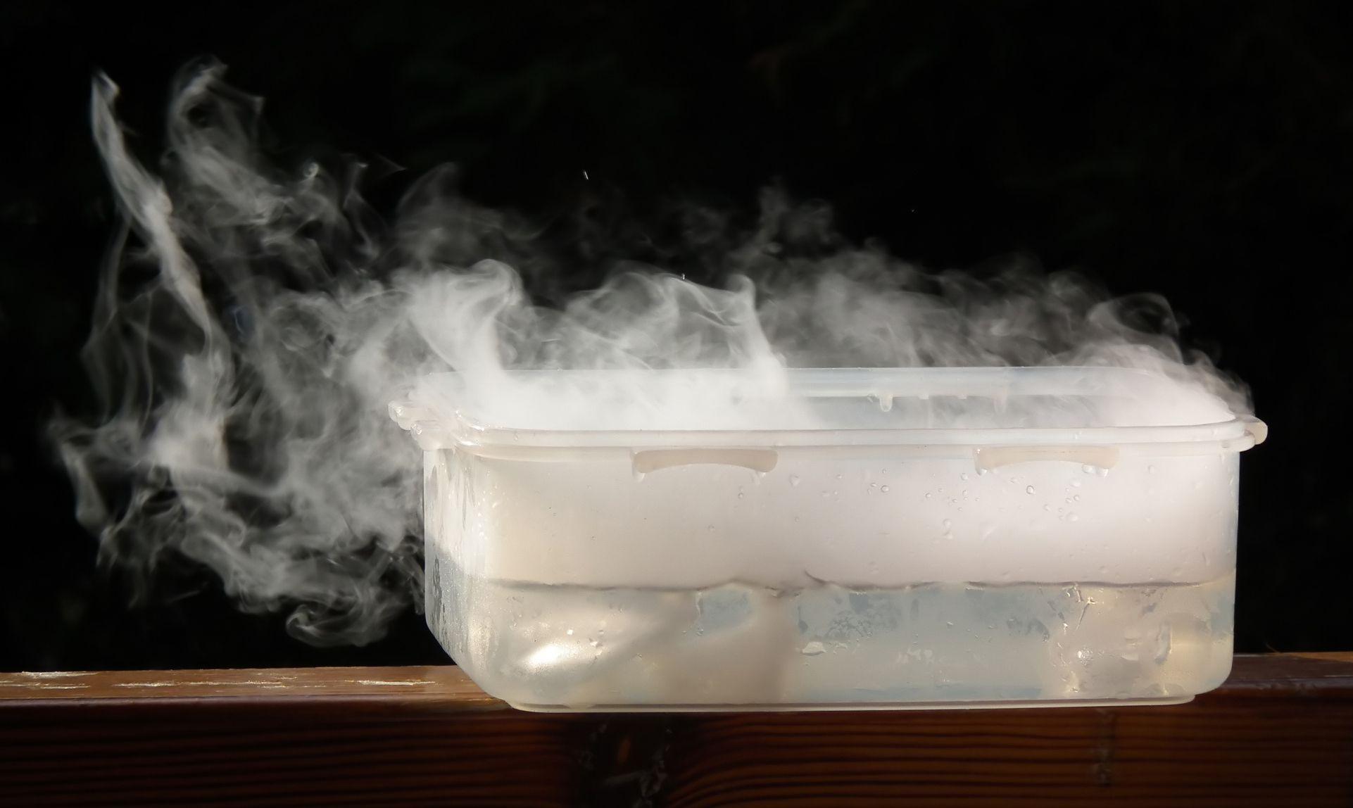 Suszenie suchym lodem? Można!