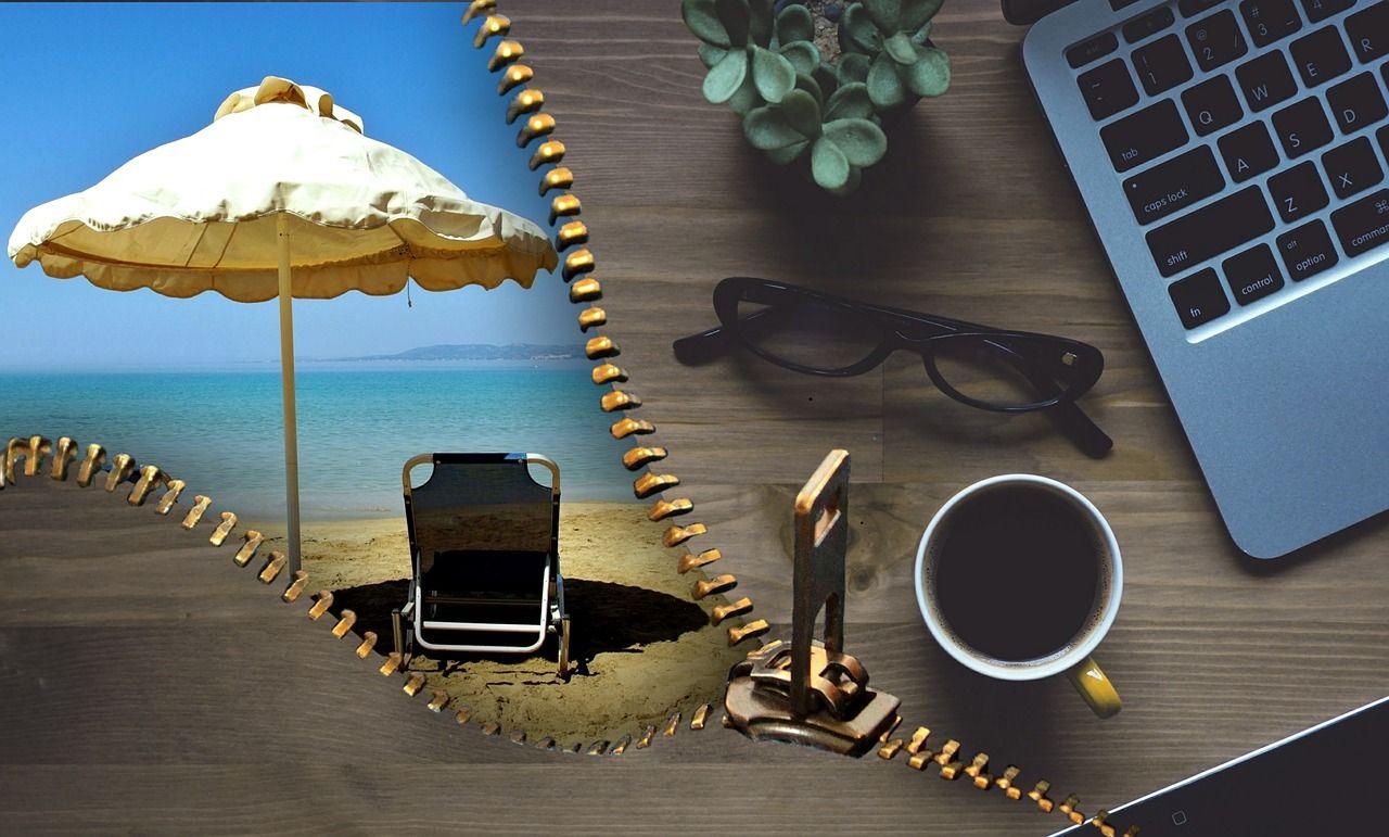 Praca zdalna w podróży - połącz przyjemne z pożytecznym